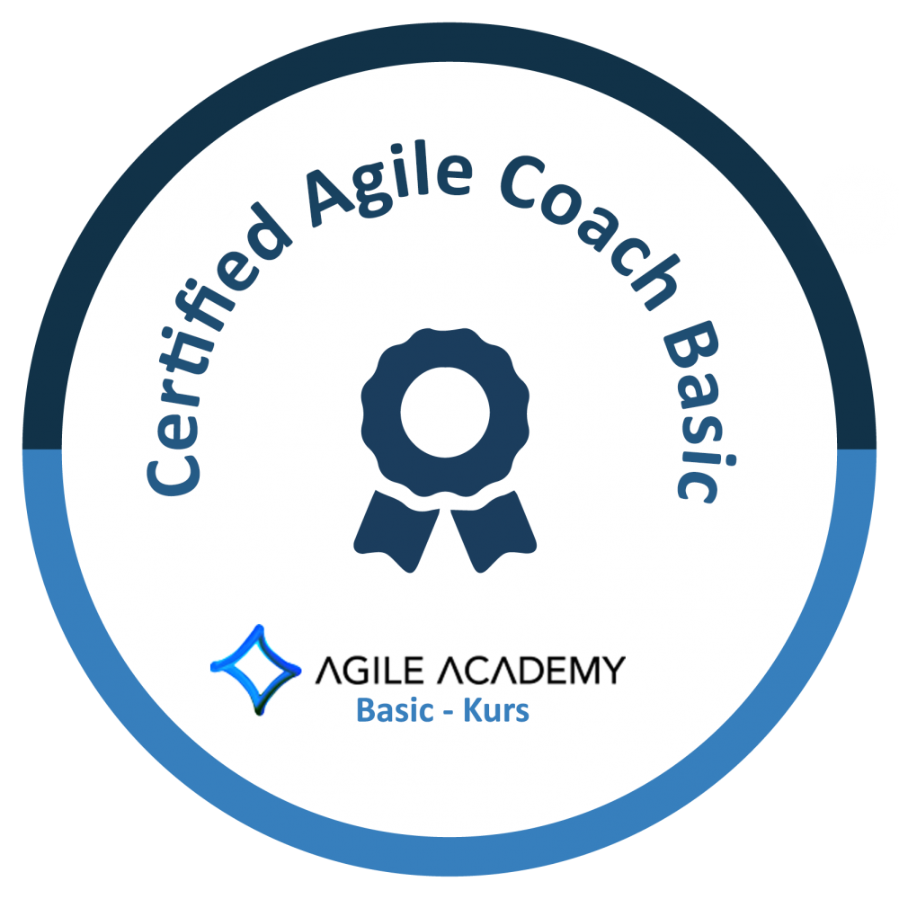 Certified Agile Coach Basic Logo bei Agile Academy