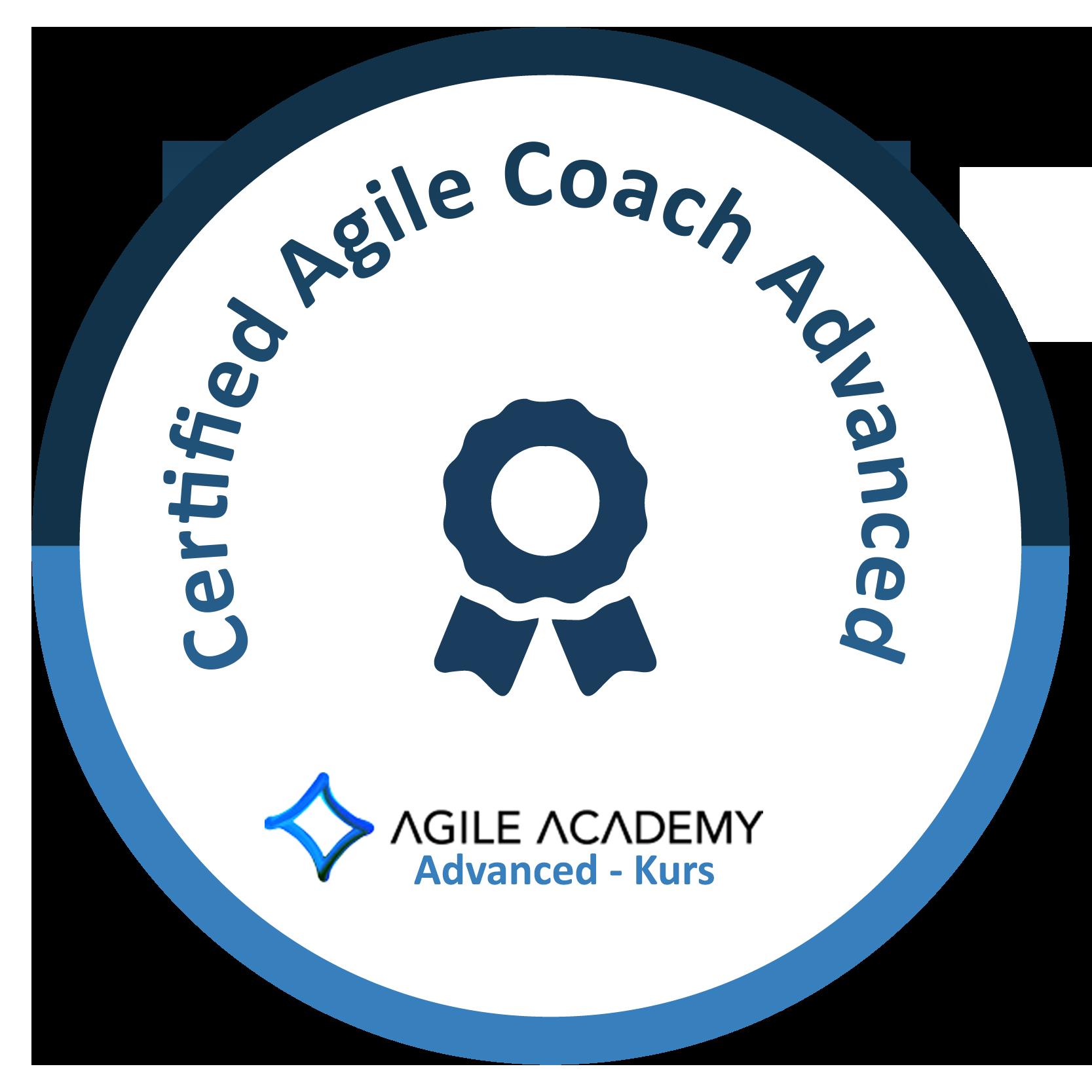 Certified Agile Coach Advanced Logo bei Agile Academy